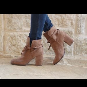 Bow Booties Shoes